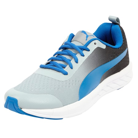 Radiance IDP Running Shoes, Black-Quarry-Royal Blue, small-IND