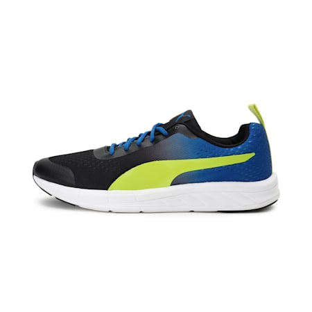 Radiance IDP Running Shoes, Turkish Sea-Nrgy Yellow, small-IND