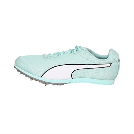evoSPEED EverTrack + Star 6 Men's Track & Field Boots, Fair Aqua-Puma White, small-IND
