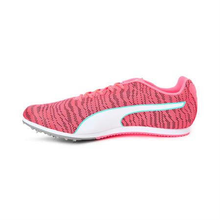 evoSPEED EverTrack + Star 6 Men's Track & Field Boots, Ignite Pink-White-Black, small-IND
