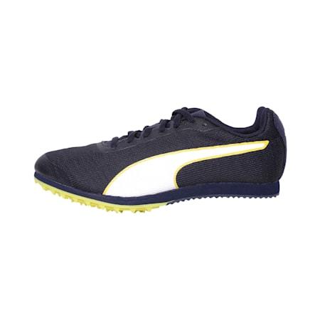 evoSPEED Star 6 Kids' Running Shoes, Peacoat-Puma Black-Yellow, small-IND