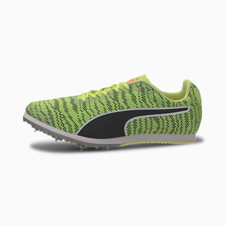 evoSPEED Star 6 EverTrack+ Kids' Running Shoes, Fizzy Yellow-Puma Black, small-IND