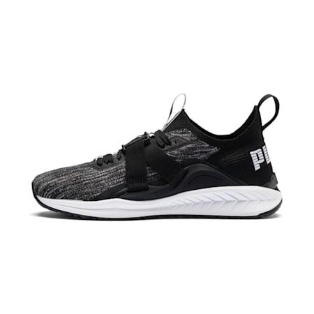 IGNITE evoKNIT 2 Lo Men's Shoes, Black-White-QUIETSHADE, small-IND