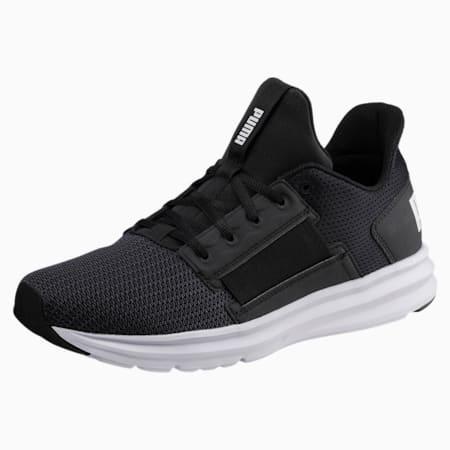 Enzo Street Men's Running Shoes, Puma Black-Puma White, small-SEA