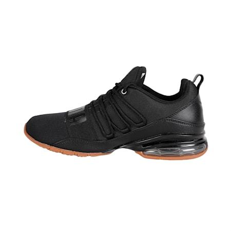 Cell Regulate Nature Tech Men's Running Shoes, Puma Black-Asphalt, small-IND
