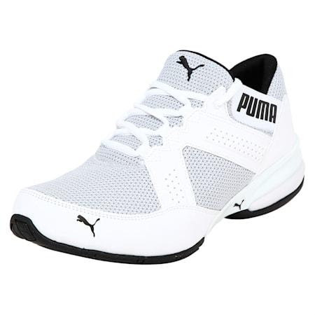 Enzin Mesh Men's Running Shoes, Puma White-Puma Black, small-IND