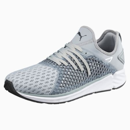 IGNITE 4 NETFIT Men's Running Shoes, Quarry-Asphalt, small-IND