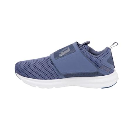 Enzo Strap Mesh Women's Shoes, Blue Indigo-Puma White, small-IND