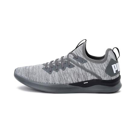 IGNITE Flash evoKNIT Men's Training Shoes, CASTLEROCK-Black-White, small-IND