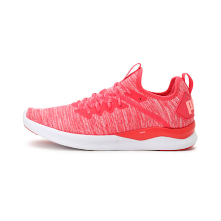 IGNITE Flash evoKNIT Women's Running Shoes, Paradise Pink-Fluo Peach, small-IND