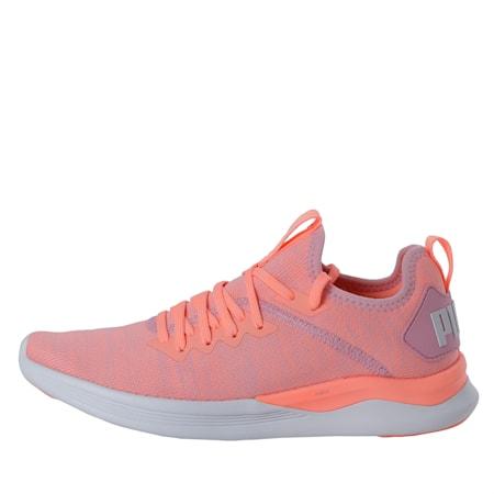 IGNITE Flash evoKNIT Women's Running Shoes, Bright Peach-Puma White, small-IND