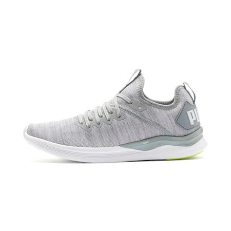 IGNITE Flash evoKNIT Women's Running Shoes, Quarry-White-Milky Blue, small