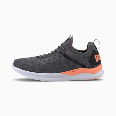 IGNITE Flash evoKNIT Women's Training Shoes, CASTLEROCK-FizzyOrange-Black, small