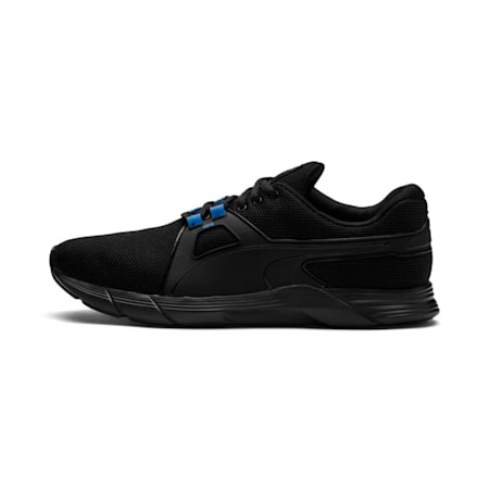Propel XT Men's Training Shoes, Puma Black-Strong Blue, small-IND