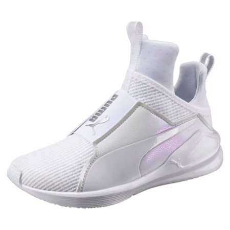 Fierce En Pointe Women's Training Shoes, Puma White-Puma White, small-IND