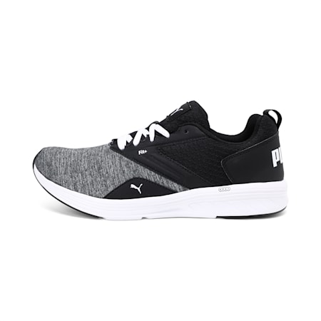 NRGY Comet Unisex Running Shoes, Puma White-Puma Black, small-IND
