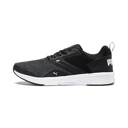 NRGY Comet Running Shoes, Puma Black-Puma White, small-GBR