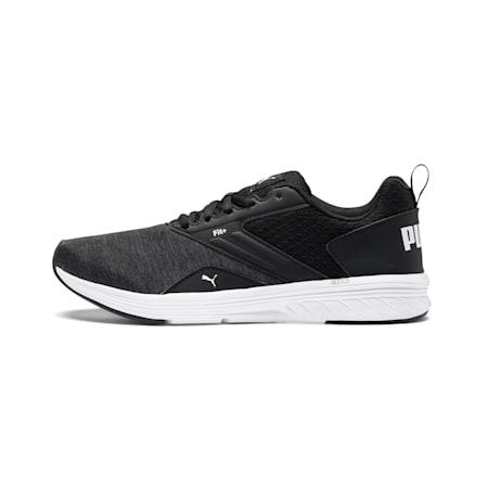 NRGY Comet Unisex Running Shoes, Puma Black-Puma White, small-IND