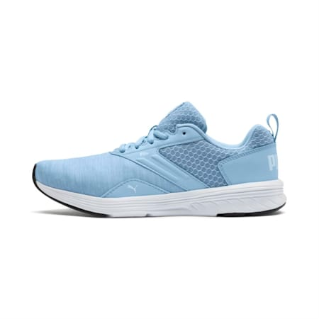 NRGY Comet Running Shoes, CERULEAN-Puma White, small-IND