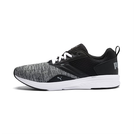 NRGY Comet Running Shoes, Puma Black-Puma White, small-IND