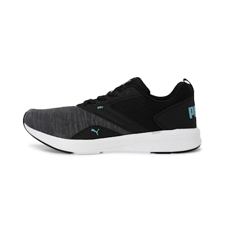 NRGY Comet Unisex Running Shoes, Puma Black-Milky Blue, small-IND