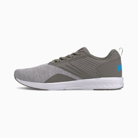 NRGY Comet Running Shoes, Ultra Gray-Nrgy Blue-White, small-IND