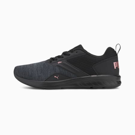 NRGY Comet Unisex Running Shoes, Puma Black-Rose Gold, small-IND