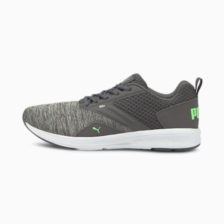 NRGY Comet Running Shoes, CASTLEROCK-Elektro Green, small