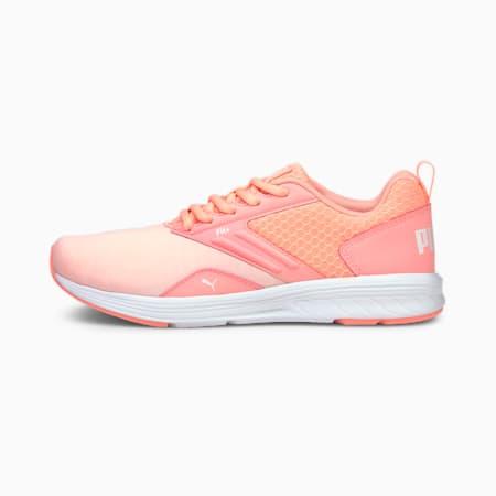 NRGY Comet Unisex Running Shoes, Elektro Peach-Puma White, small-IND