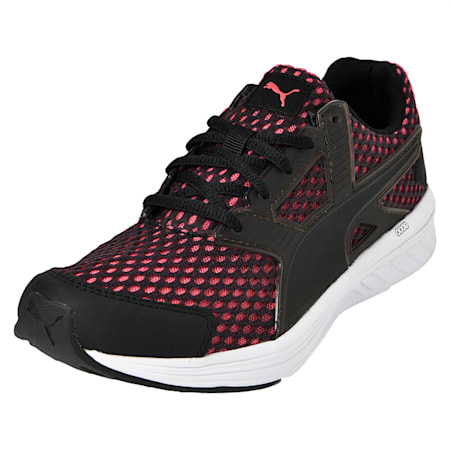 NRGY Driver Women's Running Shoes, Puma Black-Paradise Pink, small-IND