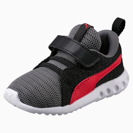 Carson 2 V Preschool Kids' Shoes, QUIET SHADE-Flame Scarlet, small-IND