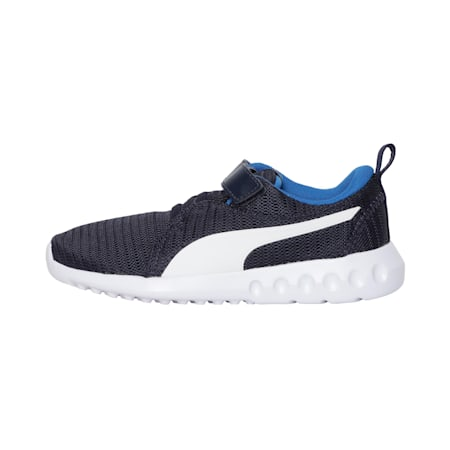 Carson 2 V Preschool Kids' Shoes, Peacoat-Blue-White, small-IND