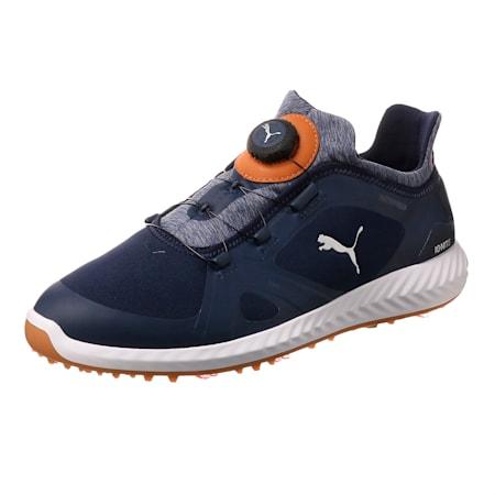 IGNITE PWRADAPT DISC Men's Golf Shoes, Peacoat-Peacoat-Puma White, small-SEA