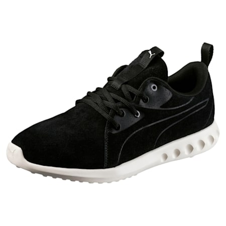 Carson 2 Moulded Suede Shoes, Puma Black-Whisper White, small-IND