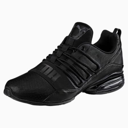 Zapatos para correr Cell Regulate para hombre, Puma Black-Dark Shadow, pequeño
