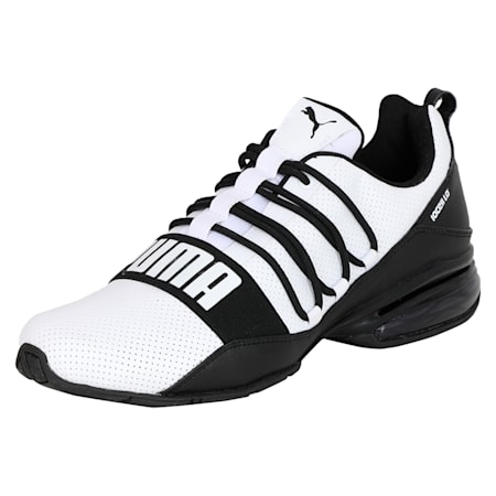 Cell Pro Limit Men's Running Shoes, Puma White-Puma Black, small-IND