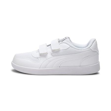 Kent V JR IDP Kid's Sneaker, Puma White-Puma White, small-IND