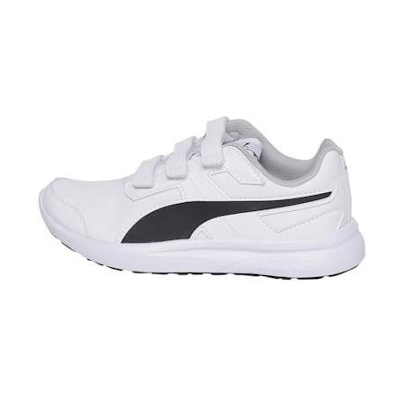 Escaper SL Jr Running Shoes, Puma White-Puma Black, small-IND
