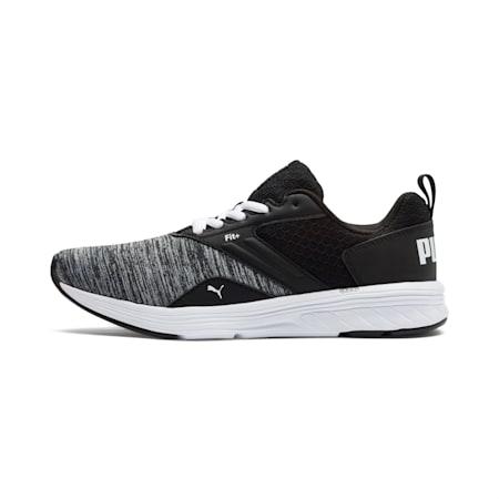 NRGY Comet Kids' Running Shoes, Puma White-Puma Black, small
