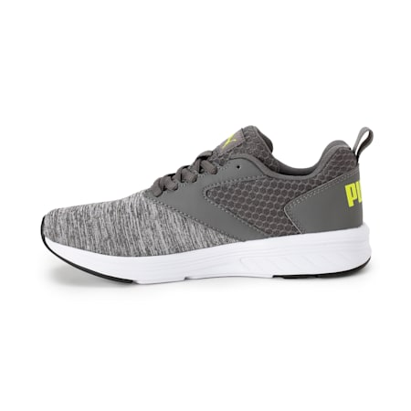 NRGY Comet Kids' Running Shoes, CASTLEROCK-White-Nrgy Yellow, small-IND
