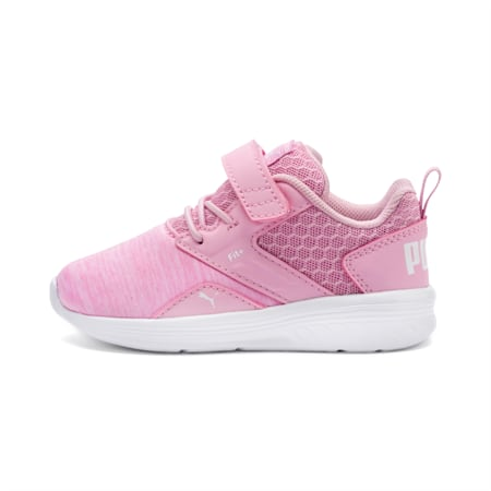 NRGY Comet Preschool Trainers, Pale Pink-Puma White, small-SEA