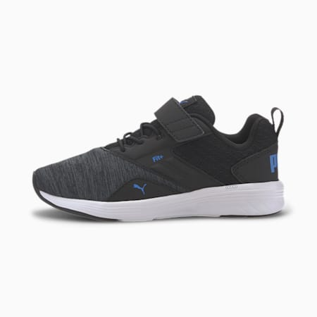 NRGY Comet Preschool Trainers, Puma Black-Palace Blue, small-SEA