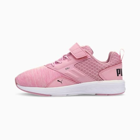 NRGY Comet Kids Sneaker, Pale Pink-Black-White, small