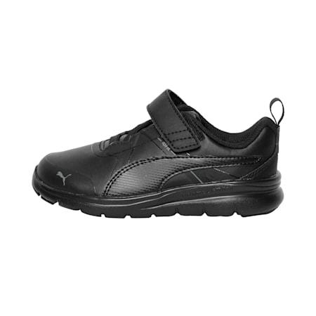 PUMA Flex Essential SL Kids' Shoes, Puma Black-Puma Black, small-IND