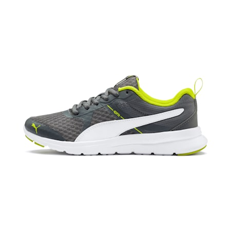 Essential Flex Youth Shoes, CA.ROCK-P.White-Nrgy Yellow, small-IND