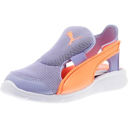 Bao 3 Open Little Kids' Shoes, Sweet Lavender-Fluo Peach, small