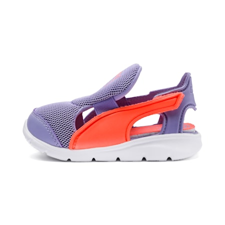 Puma Bao 3 Open Pre School, Sweet Lavender-Fluo Peach, small-SEA