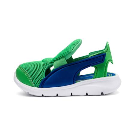 Bao 3 Open Babies Shoe, Surf The Web-Irish Green, small-SEA
