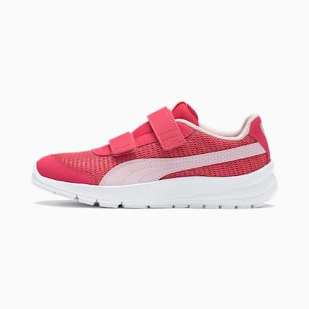 Stepfleex 2 Run Mesh V Kids Sneaker, Paradise Pink-Pearl, small