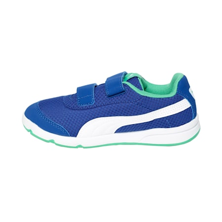 Kids Stepfleex 2 Mesh Sneakers, Surf The Web-Green-White, small-IND